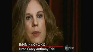 Exclusive: Casey Anthony Juror No. 3