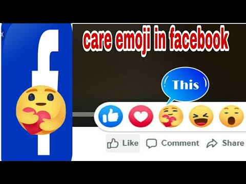 How  To Get Care Emoji In Facebook| Techno Help