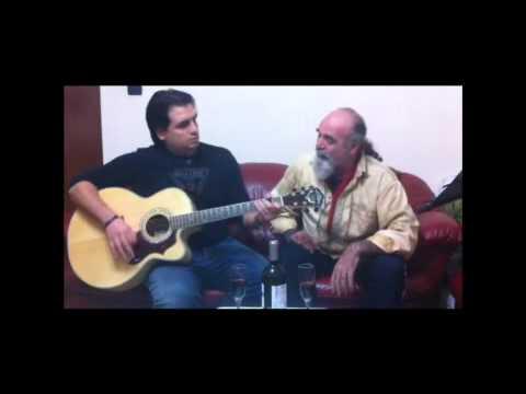 Improvvisazione acustica - CRESCERAI (Nomadi) - Leo & Gerri