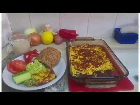 (Pastida) Baked Zukini Omelet (Israeli Food)Easy \u0026 Healthy