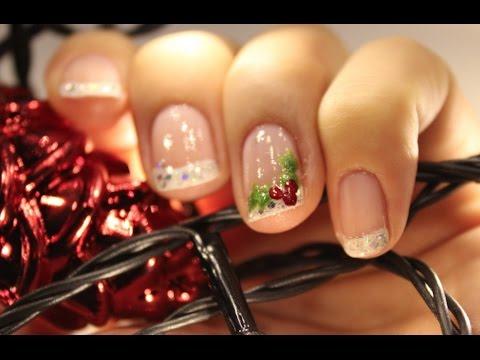10 Dec Christmas Themed Nail Art Henriette Christmas 2016 Youtube
