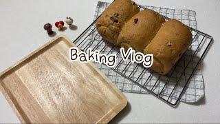 [Baking Vlog] ?호밀식빵 만들기? | 홈베이…