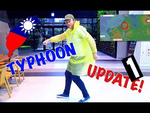 TYPHOON SEASON IN TAIWAN | KAOHSIUNG UPDATE