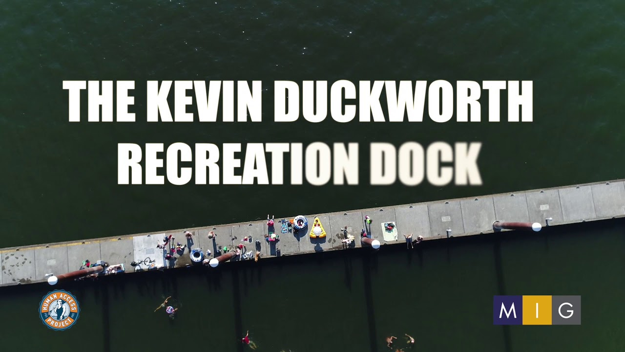Kevin Duckworth Recreation Dock Willamette River