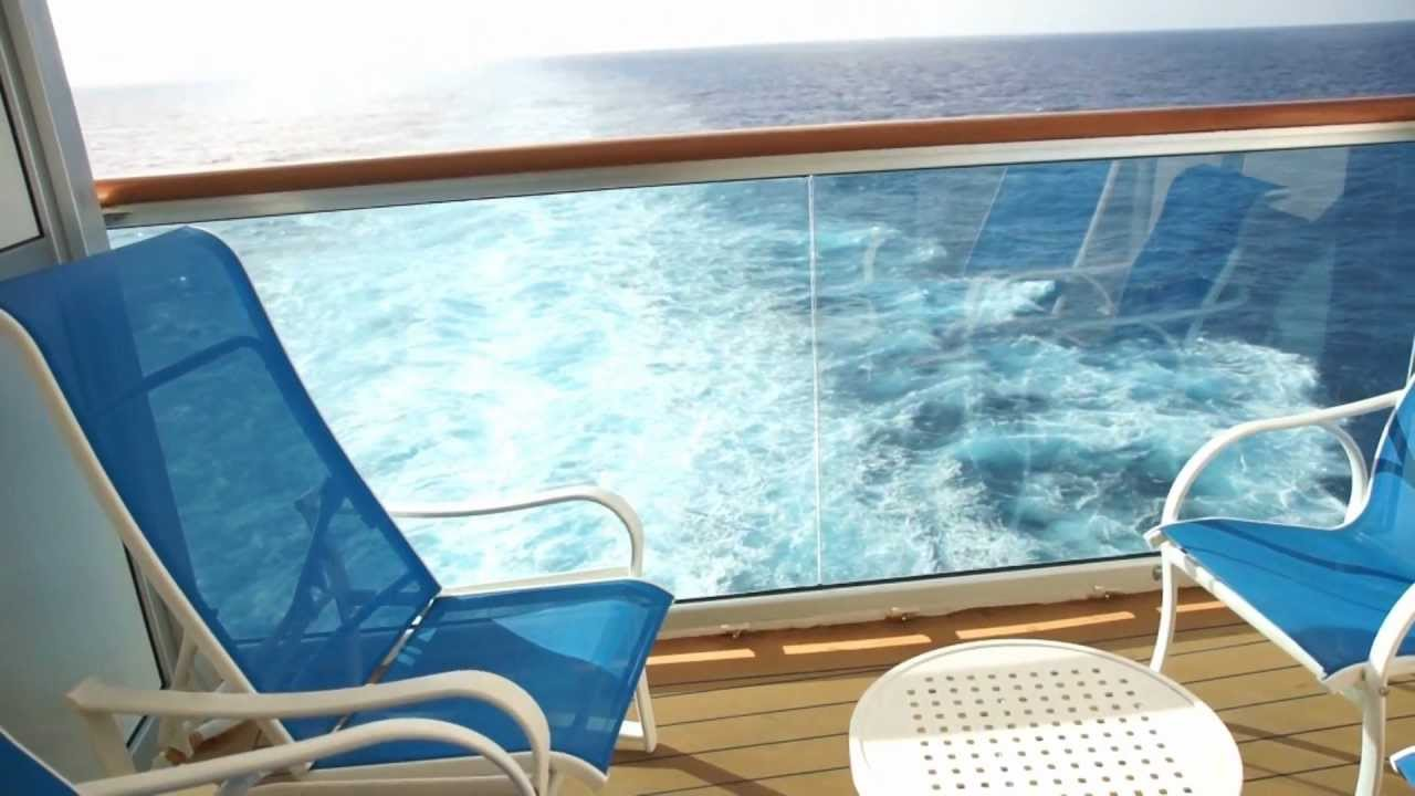 Ruby Princess Baja B754 Aft Balcony Room Beautiful Views