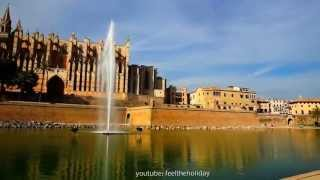 The Queen of Palma de Mallorca is the Cathedral La Seu of the balearic island in Spain