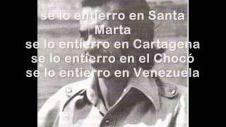 Gildardo Montoya - El Enterrador + LETRA
