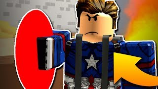 CAPTAIN AMERICA JE TOP!😱Roblox Superhero Simulator #4
