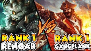INTENSE GAME VS. SCRUBNOOB AKA THE #1 RENGAR | ONE TRICK BATTLE - League of Legends