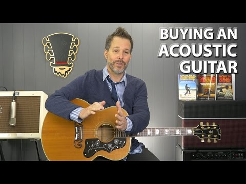 how to choose size of guitar