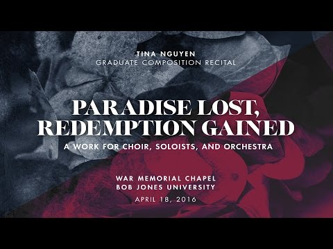 """PARADISE LOST, REDEMPTION GAINED"" by Tina Nguyen  04-18-16  (HD)"