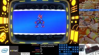 Qttsix|Mega Man 11 Any% Normal No OoB Speedrun in 34:10 WR in 2018/11/16