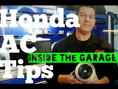 Honda Pilot AC Clutch Test