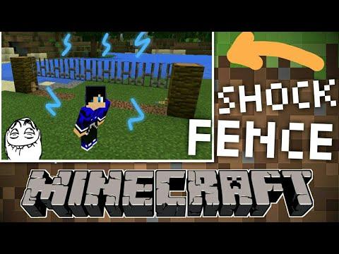 Electric shock fence ( Minecraft PE ) versi Malaysia made in MY
