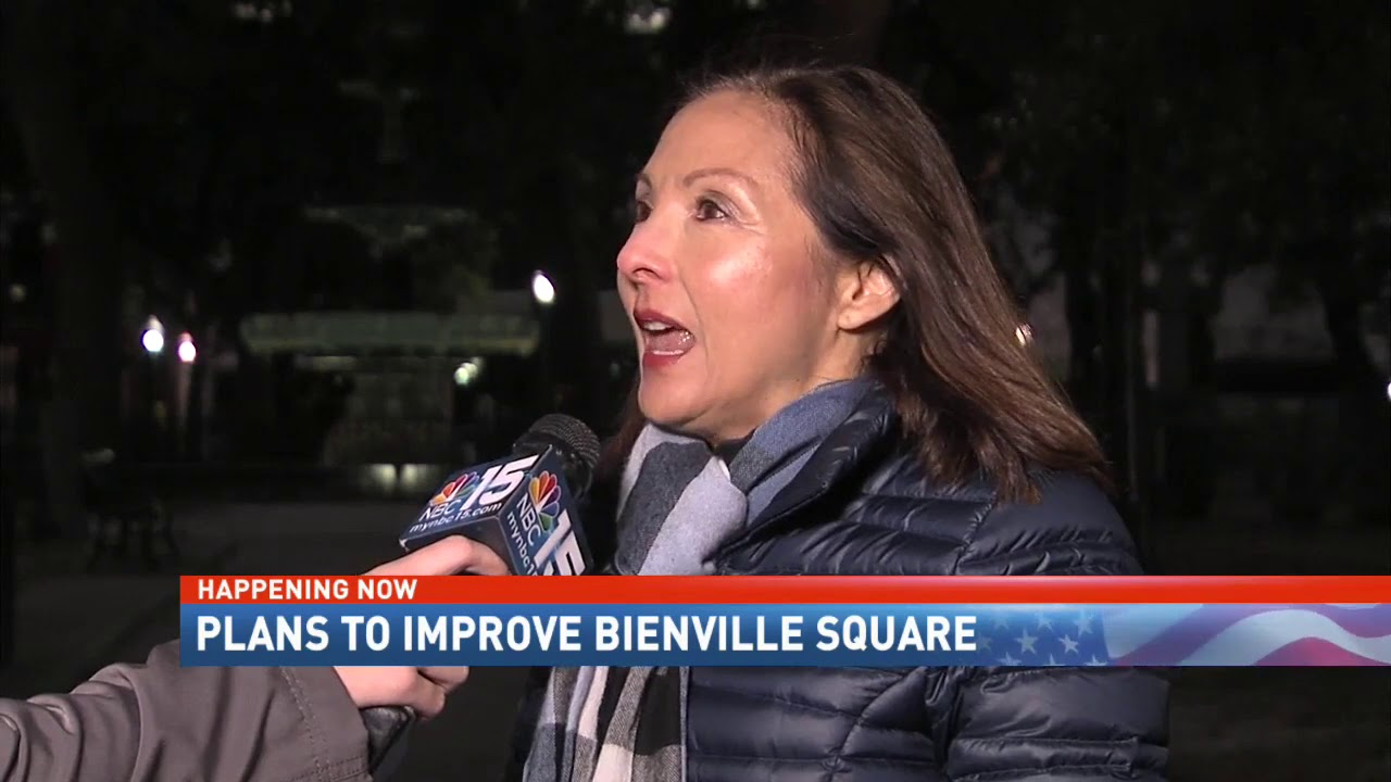Plans to improve Bienville Square in Downtown Mobile, AL - NBC 15 News, WPMI