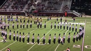 Marching Band: The Pride of the Siloam Springs Panthers.
