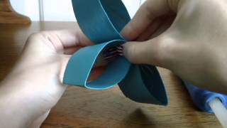 DIY flower canvas out of toilet paper rolls