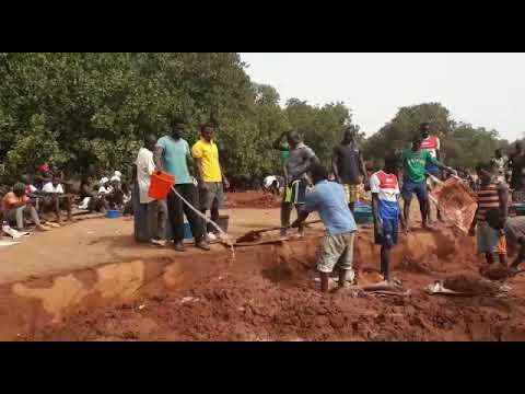 Guiné Bissau - Campada Maria, nova aldeia alcançada pela obra missionária.