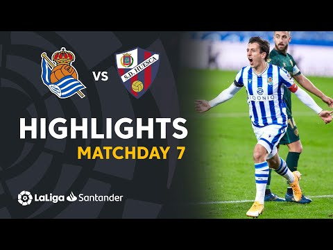 Real Sociedad Huesca Goals And Highlights