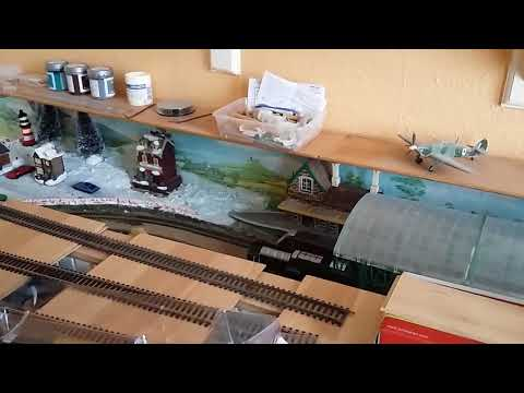 Colin's model railway more work on inclines and some kits to build February 2018