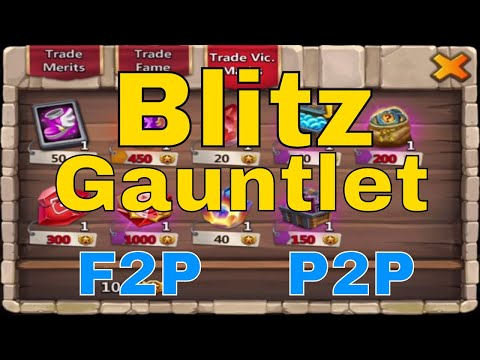 Castle Clash Blitz Gauntlet New Game Mode