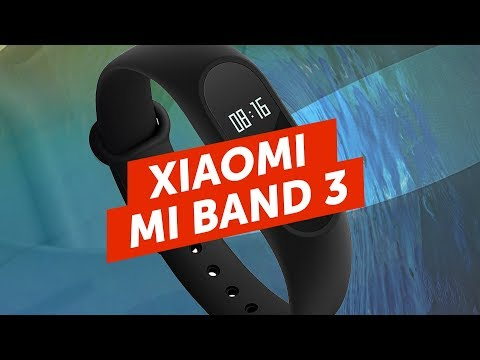 Xiaomi MI BAND 3 и IPhone SE X на видео