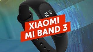 Xiaomi MI BAND 3 і iPhone SE X на відео