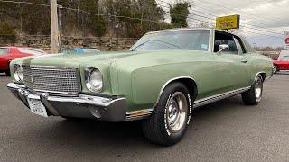 Test Drive 1970 Chevrolet Monte Carlo $18,900 Maple Motors #25C
