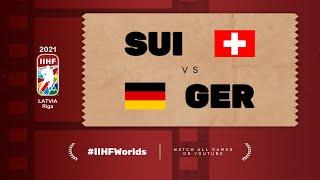 Highlights: SWITZERLAND vs GERMANY | 2021 #IIHFWorlds