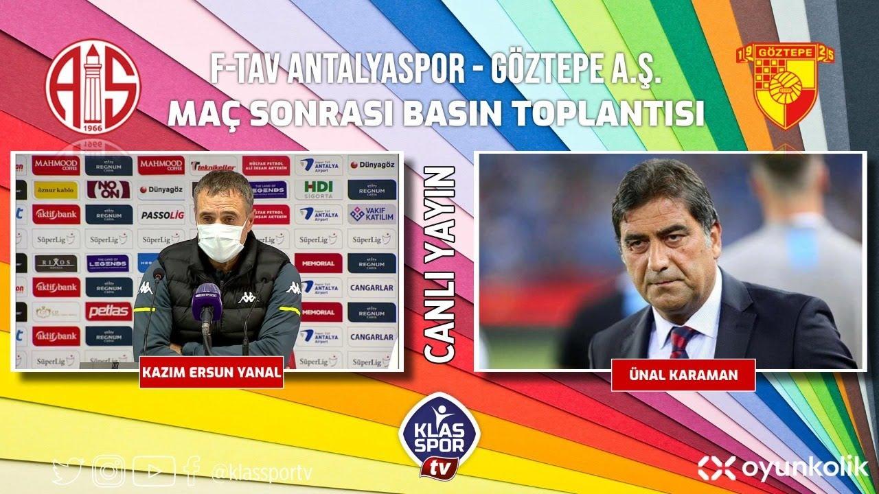 Antalyaspor- Göztepe Basın Toplantısı ᴴᴰ (CANLI)