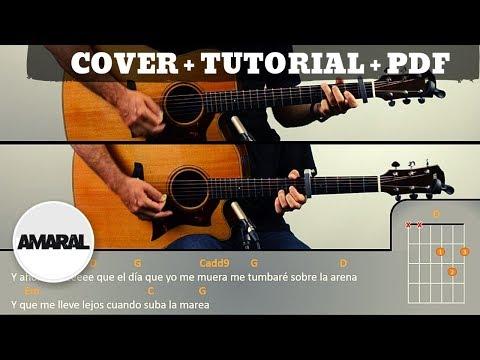 Cuando Suba La Marea | AMARAL | PDF GRATIS + TUTORIAL + COVER |