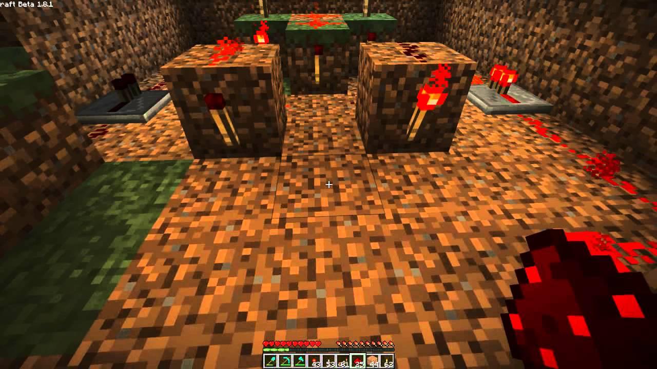 Puerta con dos palancas xor redstone pr ctico espa ol for Puerta xor minecraft