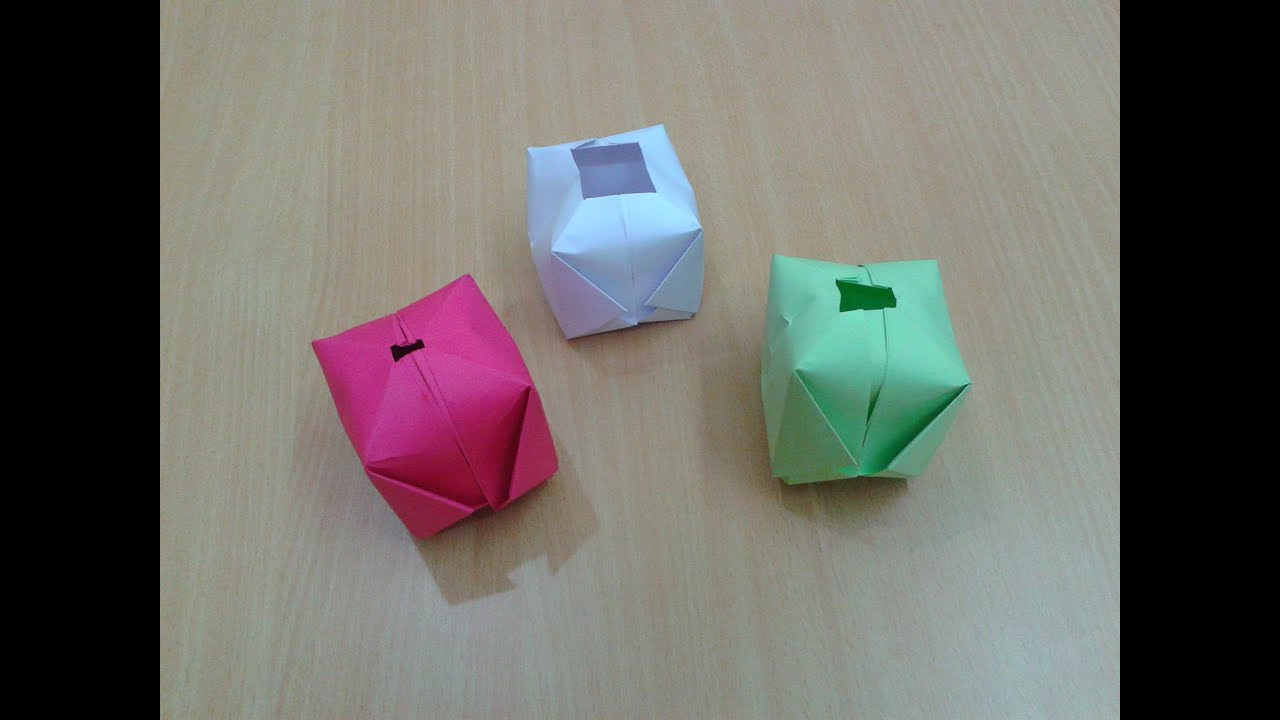How To Make A Paper Ball Water Bomb DIY Origami