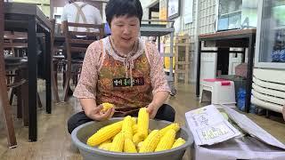 생으로 먹는 살빠지는 옥수수는 과일처럼 먹는다, 김태희…