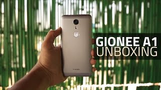 gionee a1 unboxing and first look