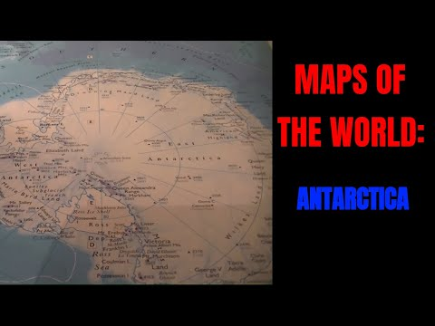 [ASMR] Maps of the World. Part 3: Antarctica