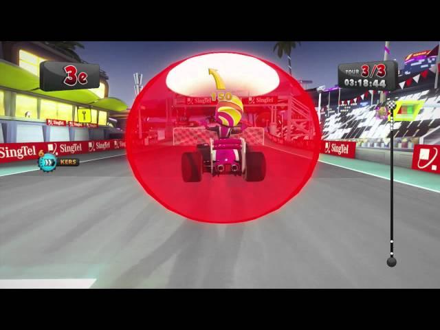 [F1 Race Stars] All Track + DLC (Gameplay)