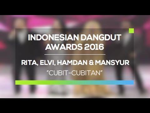 Rita Sugiarto, Elvi Sukaesih, Hamdan, Masyur S - Cubit Cubitan (IDA 2016)