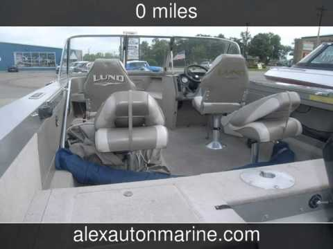 2001 Lund 1800 Fishermanwalkthru135hp Mercury Opti Used Boats