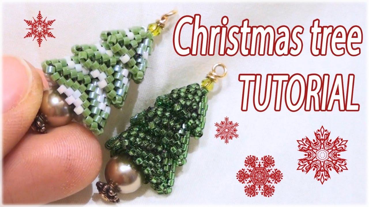 beaded christmas tree instructions