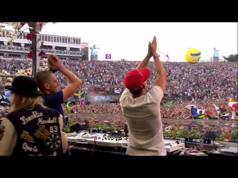 Dimitri Vegas and Like Mike at Tomorrowland 2012