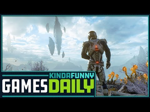 No Single Player Mass Effect Andromeda DLC - Kinda Funny Games Daily 06.30.17