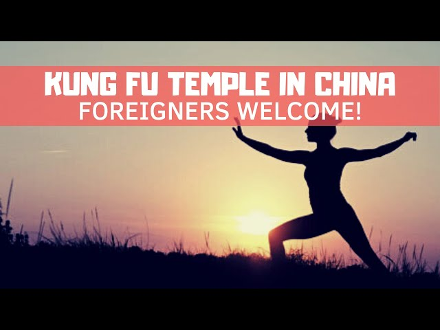 Learn KungFu in China