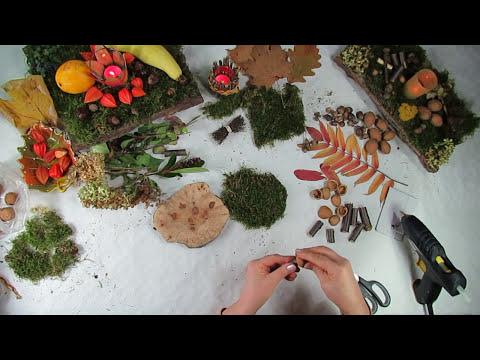 Deko Tipps Pilze Basteln Aus Naturmaterialien Einfach Und