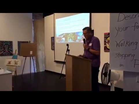 Pomona Placemaking event at the Da Gallery with Realtor Fred Van Allen