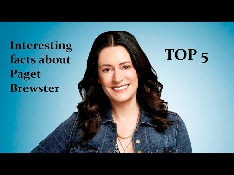 Top 5  Interesting facts about Paget Brewster