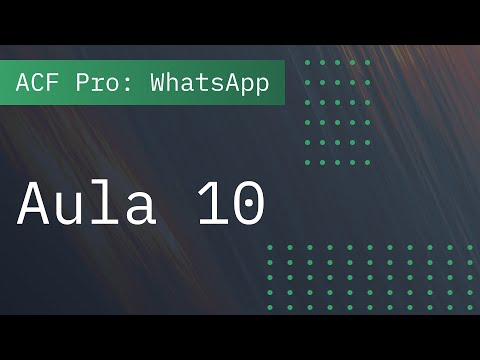 Aula 10: Configurar link do WhatsApp automaticamente