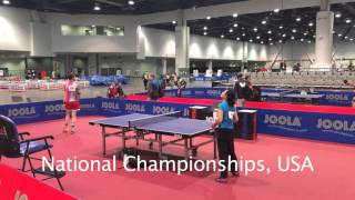 The Voice of Table Tennis Adam Bobrow in Action