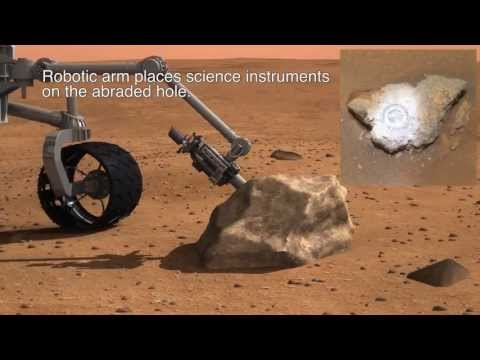 Honeybee Robotics - HD Mars 2020 Sample Acquisition and Caching Concept