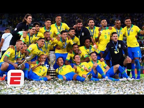 Where do Brazil rank among the best in world football after
